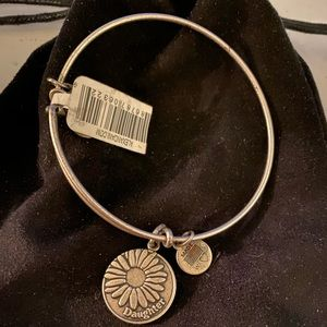 Alex and Ani Daughter Charm Bangle- Silver
